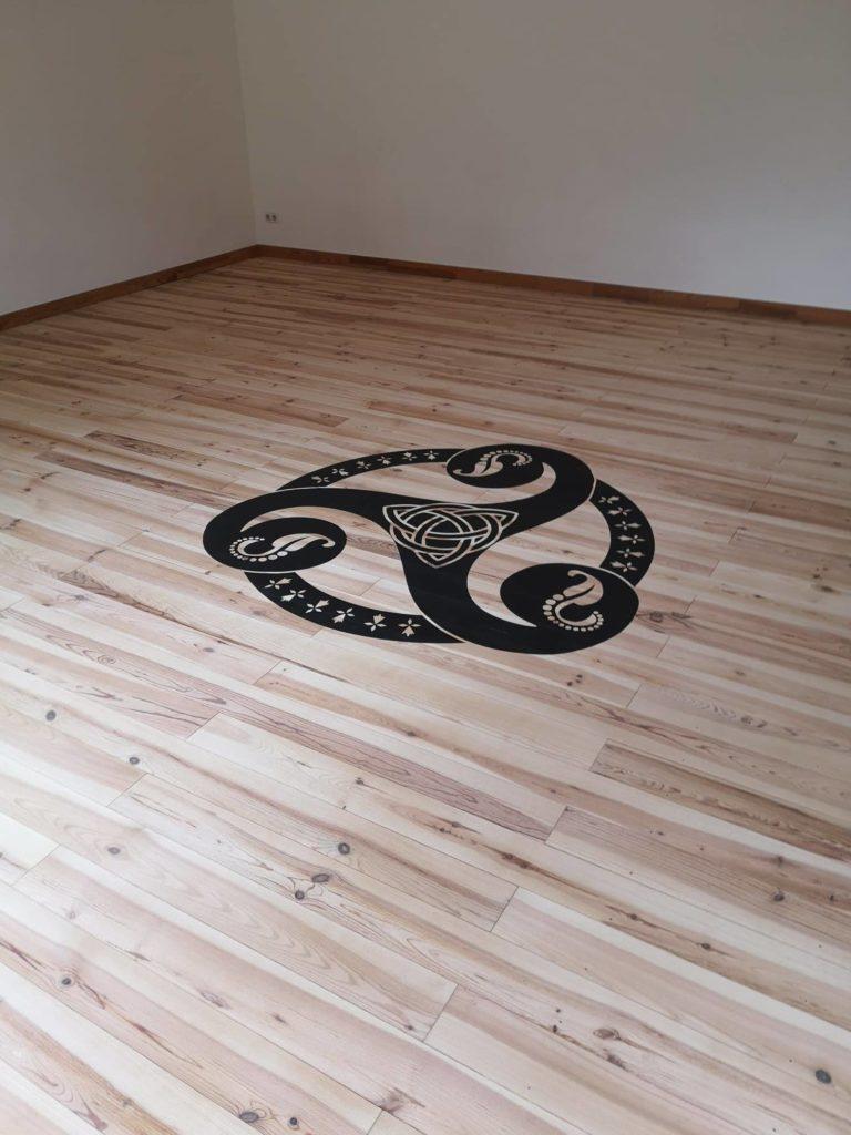 Projet atypique dans une ancienne salle de yoga – Crozon