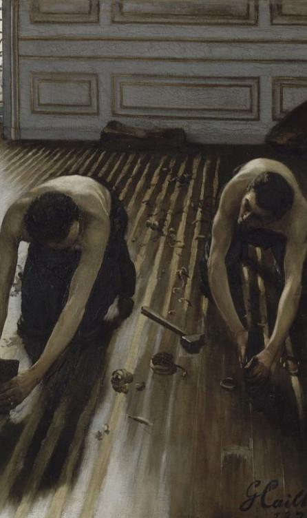 1875 : Les raboteurs de parquets, métier historique